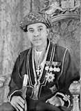 Sayyid Sir Abdullah bin Khalifa Al-Said, KBE, CMG (February 12, 1910 – July 1, 1963) (Arabic: عبد الله بن خليفة‎) was the 10th Sultan of Zanzibar. He ruled Zanzibar from October 9, 1960 to July 1, 1963. On his death, he was succeeded as Sultan by his son Jamshid.