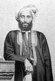 Sayyid Turki bin Said, GCSI (1832 – 4 June 1888) (Arabic: تركي بن سعيد‎) was Sultan of Muscat and Oman from 30 January 1871 to 4 June 1888. He was the fifth son of Said bin Sultan, Sultan of Muscat and Oman. <br/><br/>  On Turki's death, he was succeeded by his second son, Faisal bin Turki.